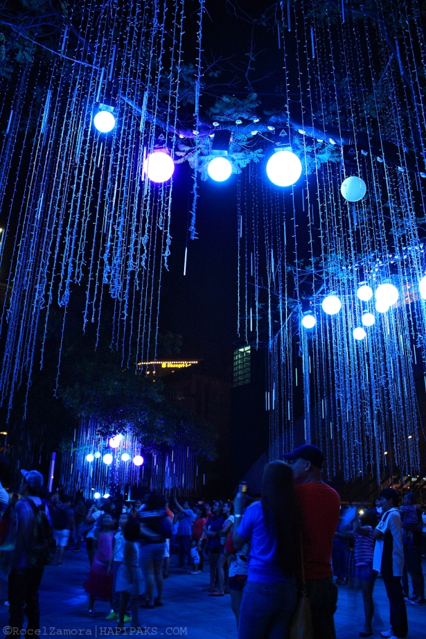 Ayala Light Show 2012