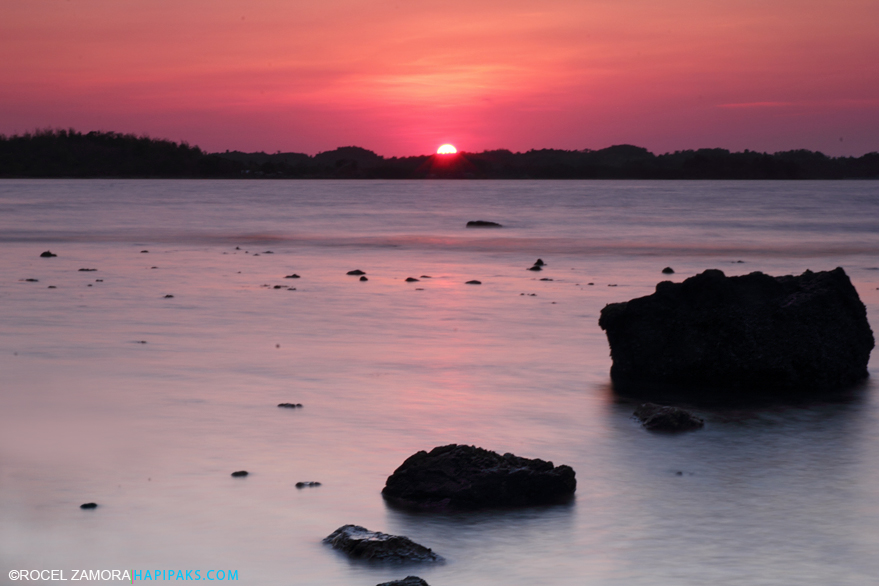 Sunset and Hundred Islands