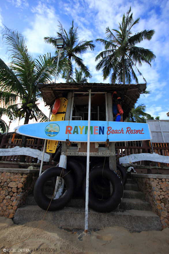 Rayman Beach Resort entrance - Courtesy of hapipaks.files.wordpress.com